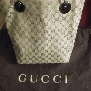 Gucci Monogram GG Tote
